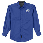 S608 - D253-S10.0 - EMB - Long Sleeve Easy Care Shirt