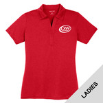 LST660 - D253-S10.0 - EMB - Ladies Heathered Polo