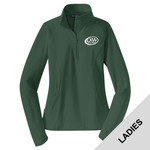 LST850 - D253-S10.0 - EMB - Ladies 1/4 Zip Pullover