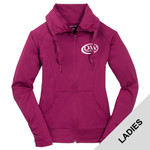 LST852 - D253-S10.0 - EMB - Ladies Full Zip Jacket